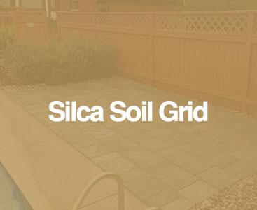 silca patio with pool
